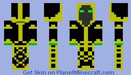 Kingdom Rush Necromancer Minecraft Skin