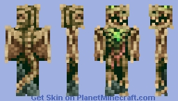 Necrodinus, Scourge Of Blackwind (Original D&D Character) Minecraft Skin
