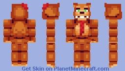 Nedd Bear - FNaF: Pizzeria Simulator Minecraft Skin