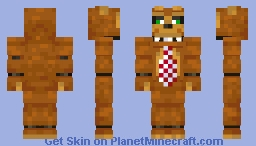 Nedd Bear - (Five Nights at Freddy's) Minecraft Skin