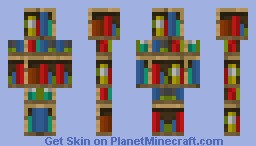 The reading guy Minecraft Skin