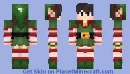 NeisanP Mission Noël Minecraft Skin