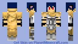 Neko in desert armor Minecraft