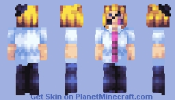 fingers click and click and he chases your clout! - lol moltenoni illusion skin remake again Minecraft Skin