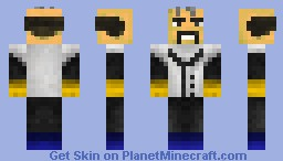 Dr. Neo Cortex - Crash Bandicoot Boss Skin Series Minecraft Skin