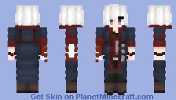 The Young Devil Hunter, Son of The Dark Slayer, The Human With Power of a Demon: Nero (Devil May Cry 4) Minecraft Skin