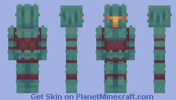 The Nether Knight Minecraft Skin