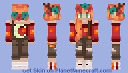 GeminiTay - Crimson Fungi Makeover Minecraft Skin