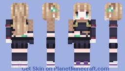 [New 3D outfit] Aisha Minecraft Skin