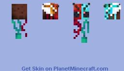 Crimson Warped Bee Minecraft Skin