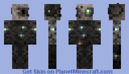 Borg Drone / Star Trek First Contact Minecraft Skin
