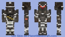 NEW Helghast Asault Infantry Soldier - Killzone Shadow Fall KZSF Minecraft Skin