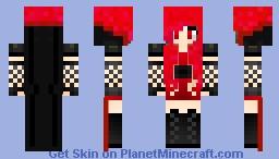 Improved Female Dracula Minecraft Skin