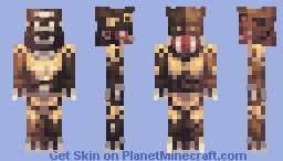 Monster Of The Apocalypse Minecraft Skin