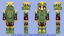 Hqtuember Day 3 Christmas tree Minecraft Skin