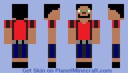 Happy Cool Guy Minecraft Skin