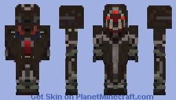 Helghast Sniper Soldier Skin - Killzone Shadow Fall KZSF Minecraft Skin