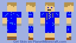 calm Minecraft Skin