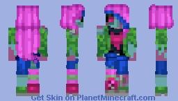 ZombIzzzy Minecraft Skin