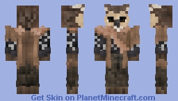 Owl Man Minecraft Skin