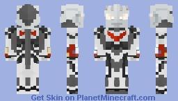 Ultraman Nexus ウルトラマンネクサス (Anphans) Minecraft Skin