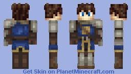 Nexus the Knight Minecraft Skin