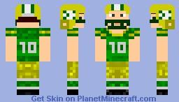 NFL Fotball Player Minecraft Skin