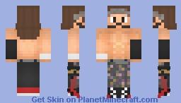 TIGHTZ   Nick Jackson   AEW Minecraft Skin