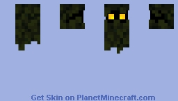 Night Glowing Minecraft Skin