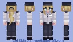 Vanessa - FNaF: Security Breach Minecraft Skin