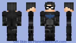 NIGHTWING (Young Justice) Minecraft Skin