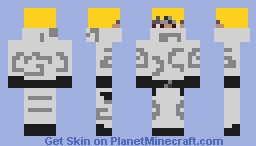 Ninja (White version) Minecraft Skin