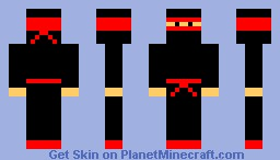 Ninja Dude (Improved! :D) Minecraft Skin