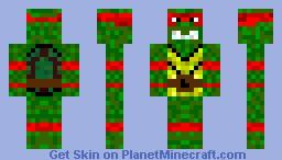Raphael Ninja Turtle [Contest] Minecraft Skin