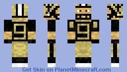Drew Brees Minecraft Skin