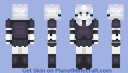 Zakuya Izayoi - Touhouvania v2 Minecraft Skin