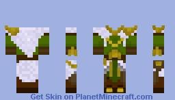 Fine Winter Clothing Minecraft Skin