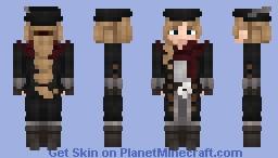 Medieval: Casual Noire Minecraft Skin