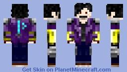 Nombi Mercury  (Mi Avatar) Minecraft Skin