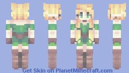 ElvenJedi // fs // popreel! Minecraft Skin