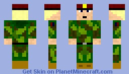 Norwegian Soldier Minecraft Skin