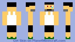 Not happy man! Minecraft Skin