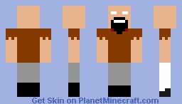 Notchbrine! Minecraft Skin