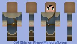 Novice Mage (Skyrim) [No-Hood Version available] Minecraft Skin