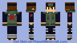 Leaf Shinobi Minecraft Skin