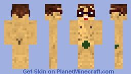 Nude Dude Minecraft Skin