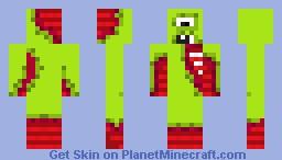 warhammer green nurgle demon Minecraft Skin