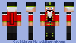 Nutcracker Minecraft Skin
