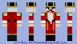 Mr. Nutcracker (INANIMATE CONTEST SKIN) Minecraft