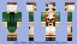Christmas Nutcracker Minecraft Skin